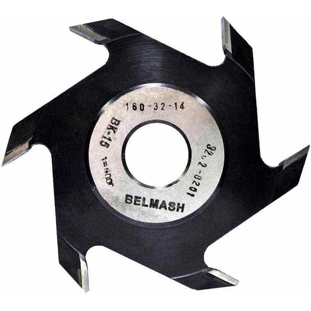 Фреза пазовая дисковая по дереву (160х32х14