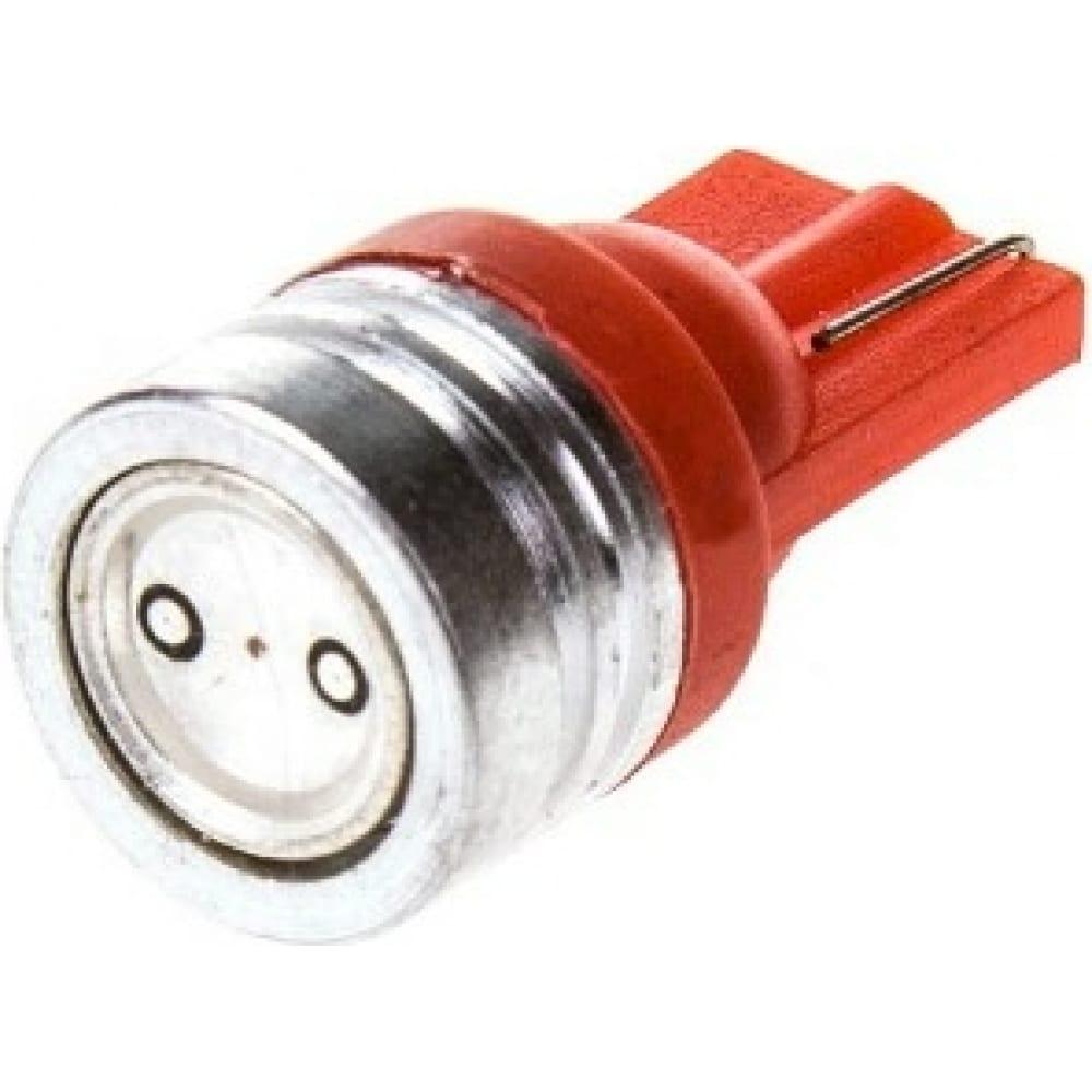 Купить Автолампа диод skyway t10, 1 smd, без цоколя, радиатор, 1-контактная, красная, габариты s08201142