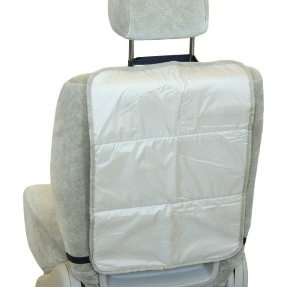 Купить Защита спинки сиденья skyway пвх, 3-х слойная, бежевая s06101009