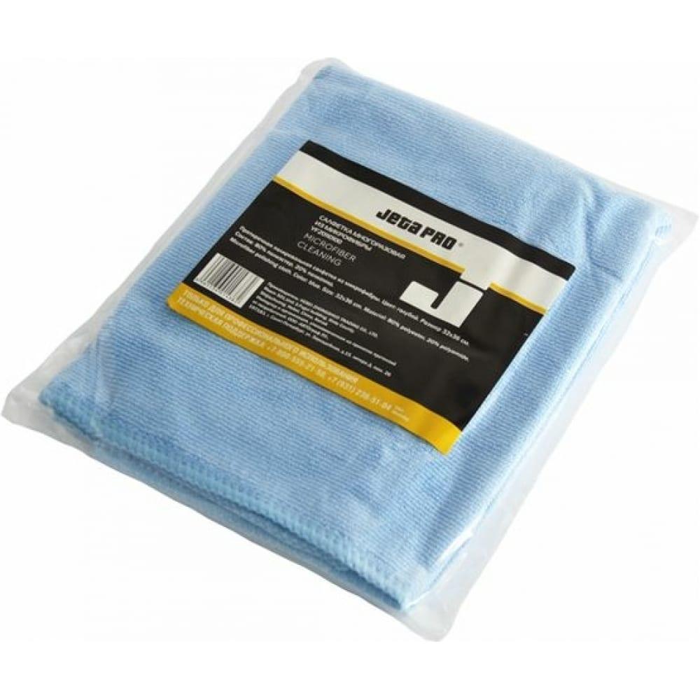 Многоразовые салфетки jeta pro из микроволокна голубые