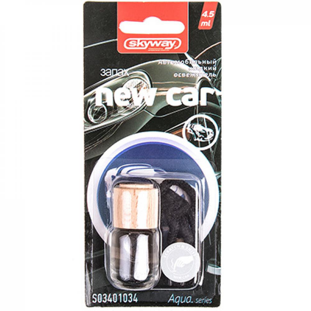 Купить Ароматизатор подвесной бутылочка с деревянной крышкой skyway aqua.series s03401034