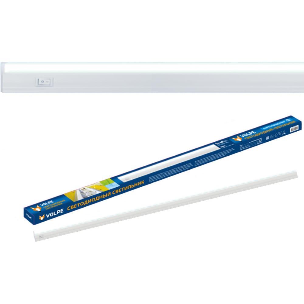 Купить Линейный светодиодный светильник volpe uli-q150 18w/4000k ip40 white аналог т5 ul-00006760