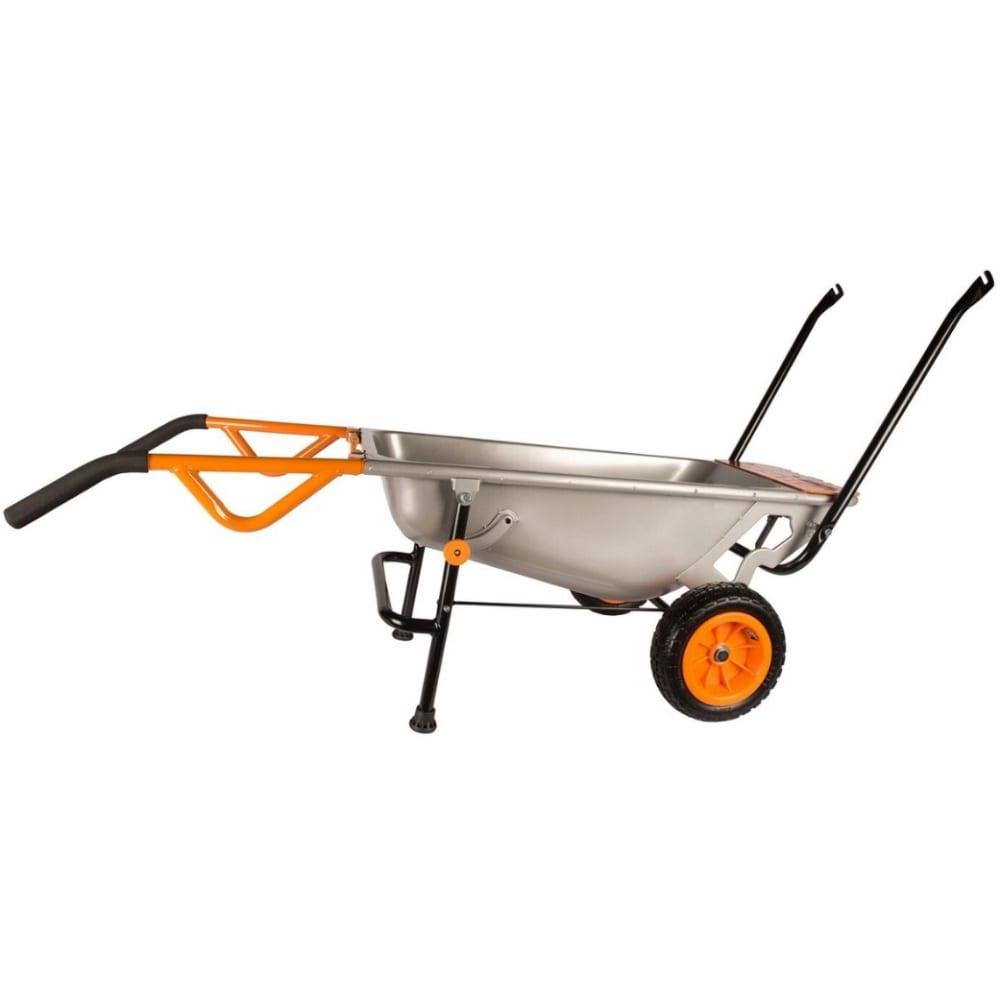 Садовая тележка worx aerocart wg050