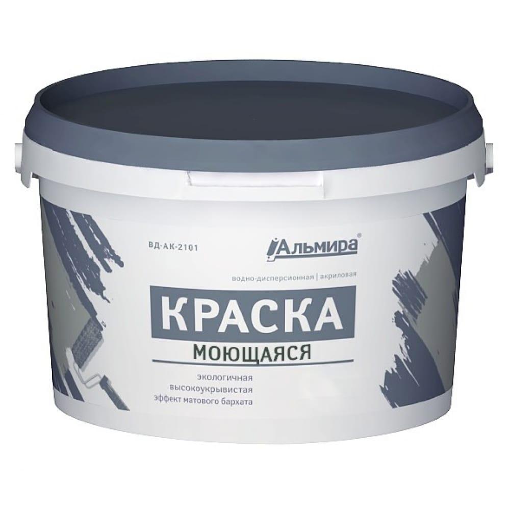 Купить Краска альмира супербелая интерьерная моющаяся 40 кг бп-00000062