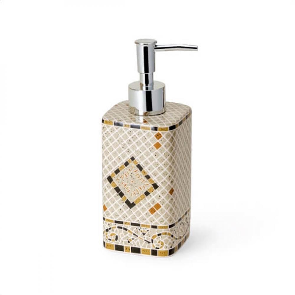 Дозатор для жидкого мыла sibo livorno green si11188  - купить со скидкой
