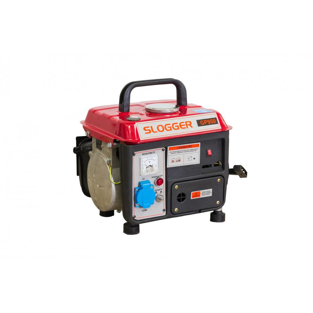 Бензиновый генератор slogger gp950