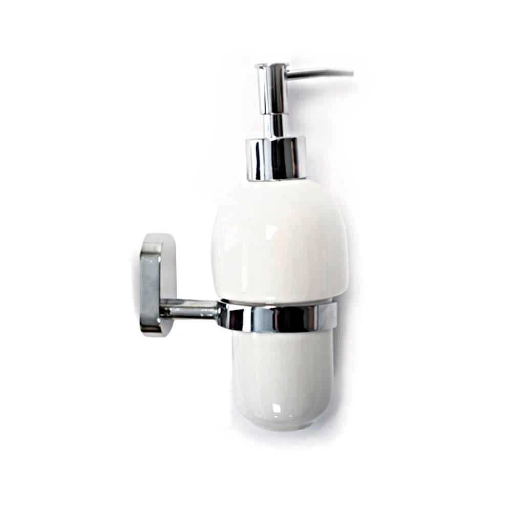 Дозатор для ж/мыла lotti flora хром lt21402