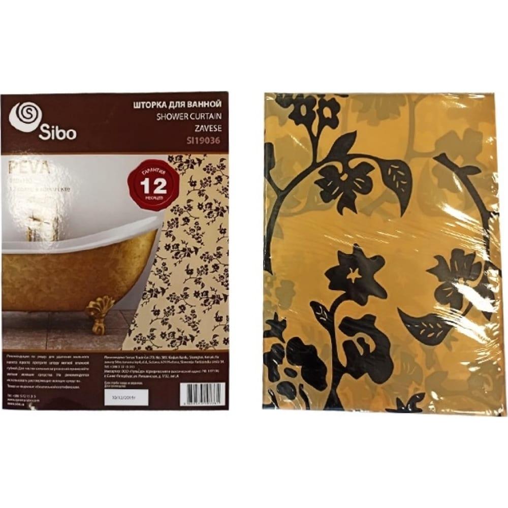 Купить Шторка для ванной sibo peva 180х180 см si19036