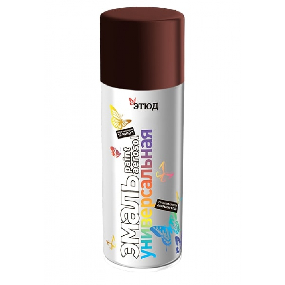 Купить Краска этюд ral 3005 темно-вишневая объем 520 мл 4630017000272
