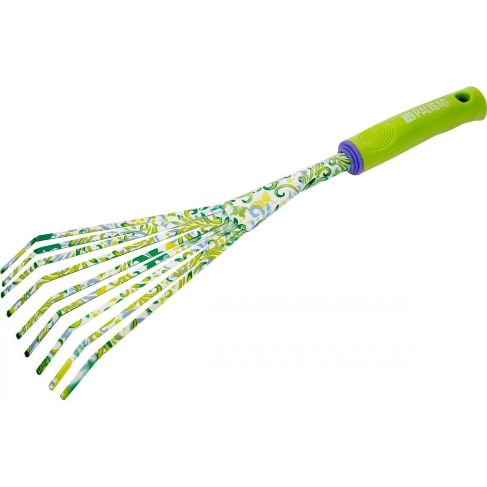 Купить Грабли веерные palisad пластиковая рукоятка круглый зуб 62042
