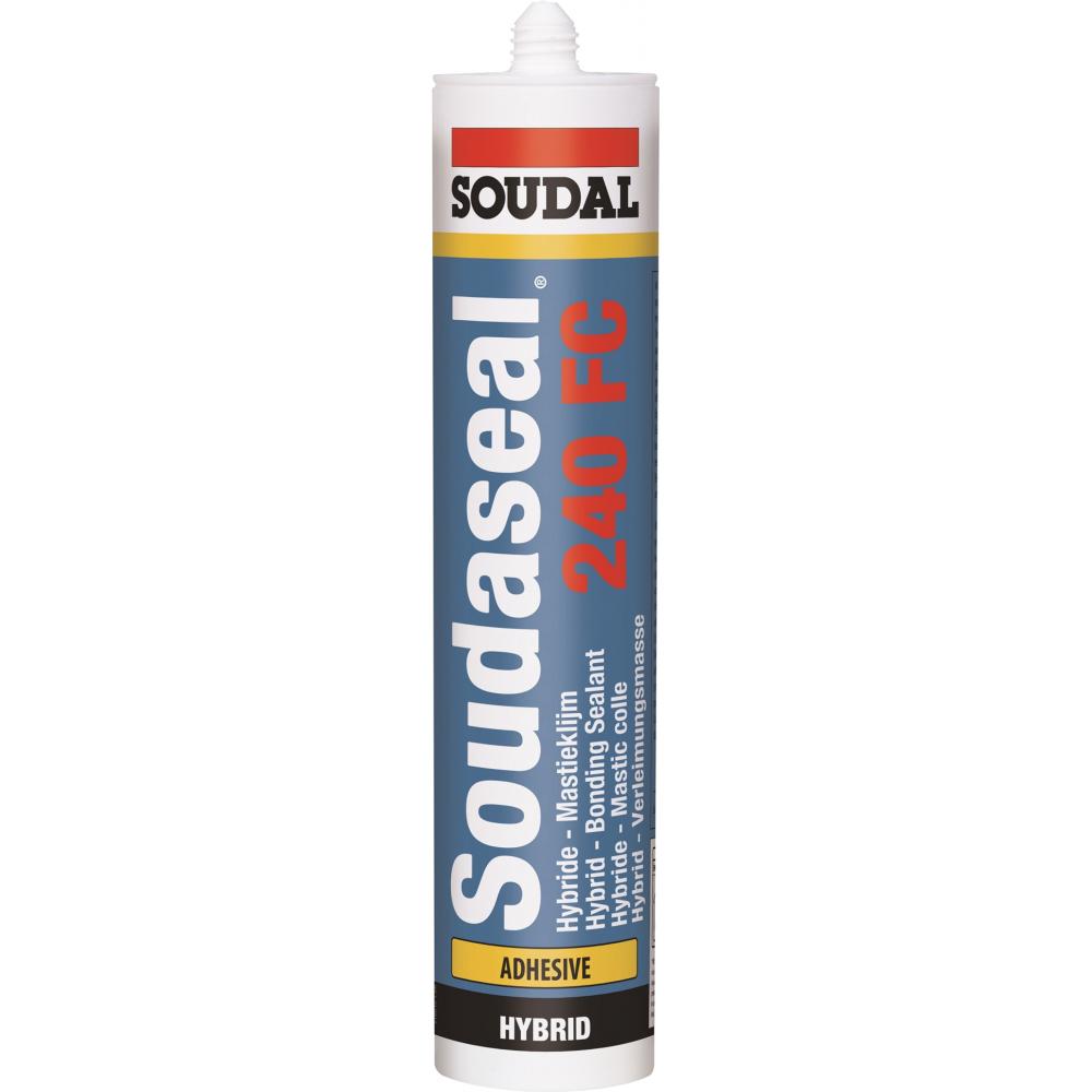 Купить Соудасил soudal 240 фс серый 290 мл 105027