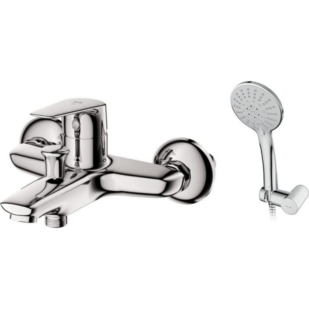 Смеситель для ванны и душа с душевым набором am.pm joy хром f85e15000  - купить со скидкой