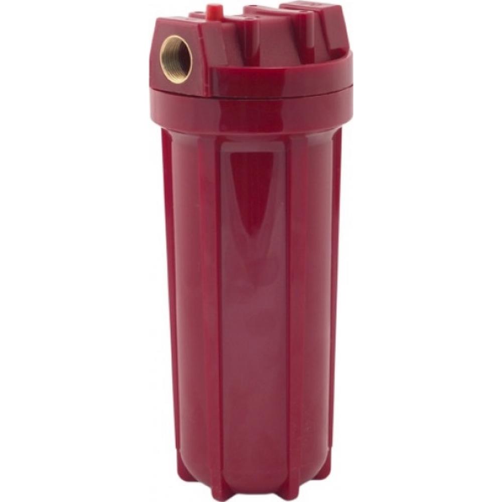 Купить Магистральный фильтр для горячей воды аквабрайт абф-гор-34 10 в комплекте кронштейн и ключ 33667