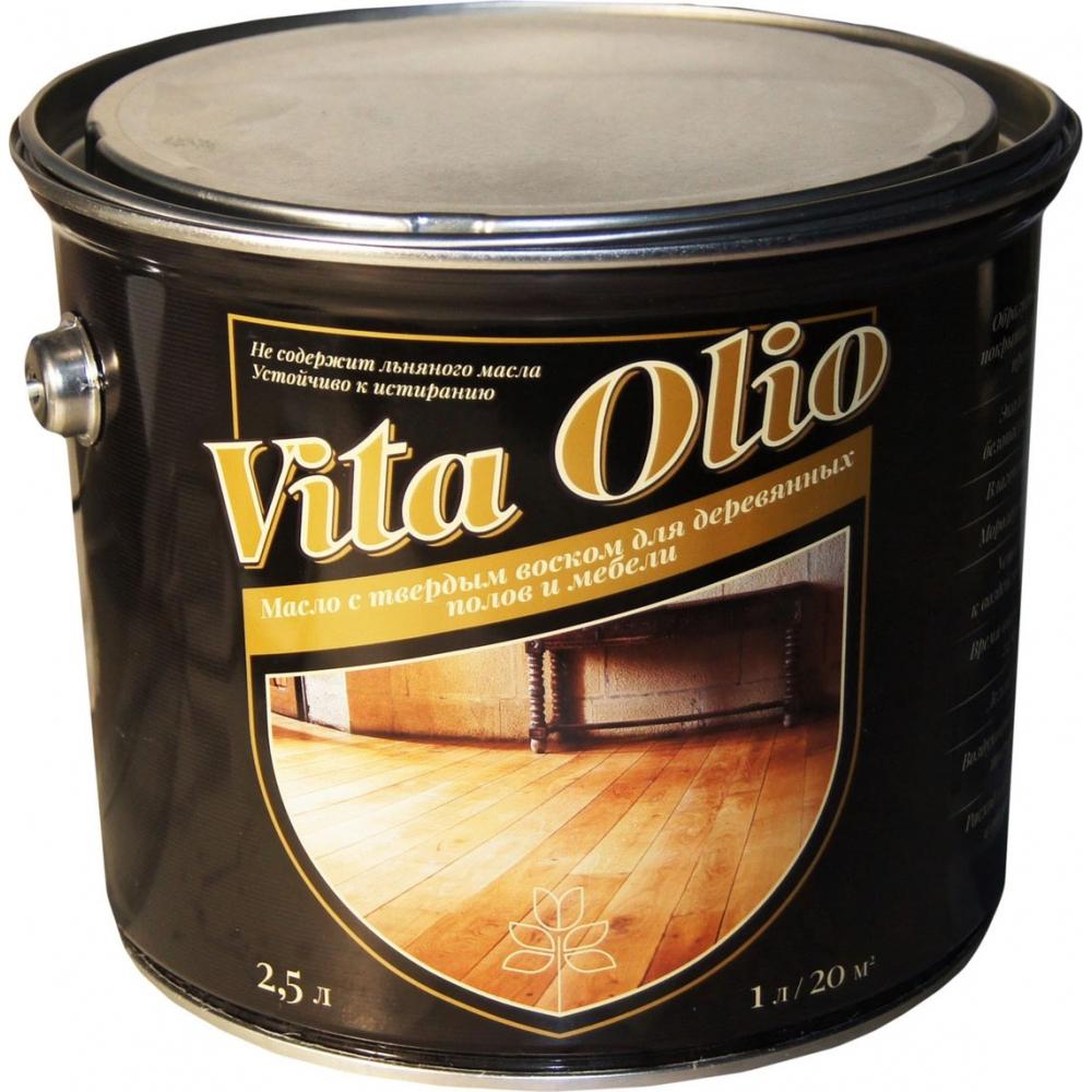 Масло живая краска vita olio с твердым