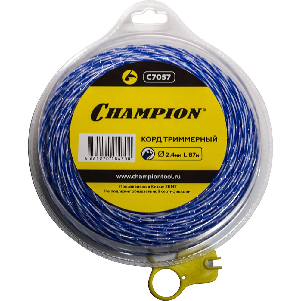 Купить Триммерный корд champion sky-cutter 2.4 мм 87 м c7057