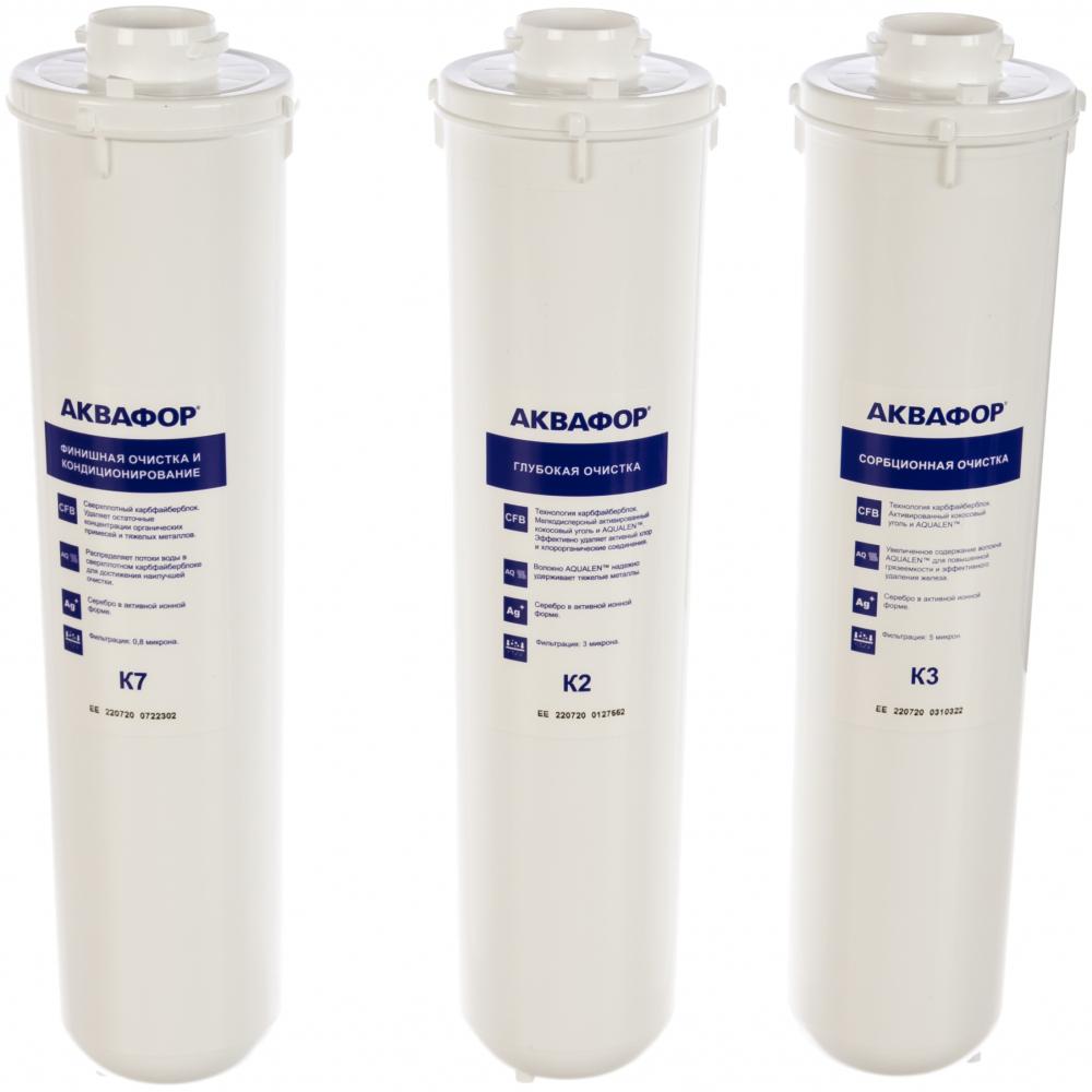 Комплект аквафор модулей сменных фильтрующих к3