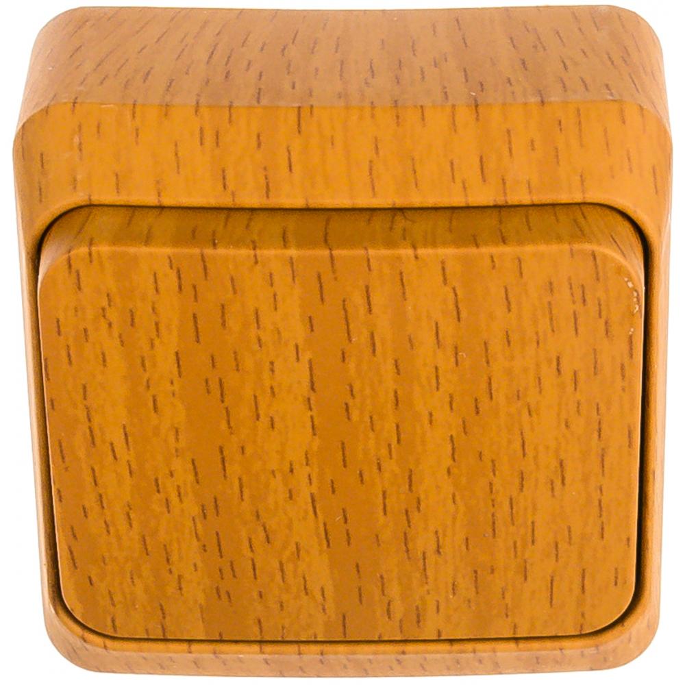 Выключатель schneider electric 1-клавишный оп этюд дача 10а бук sche ba10-001t