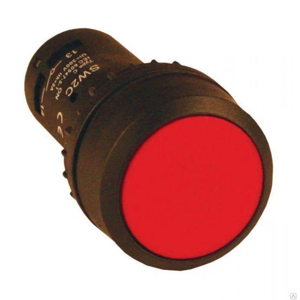 Кнопка с фиксацией ekf sw2c-11 proxima красная no+nc sqsw2c-11f-r