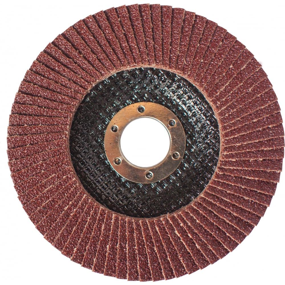 Купить Круг лепестковый торцевой (125 мм, р120) grossmeister 011006120