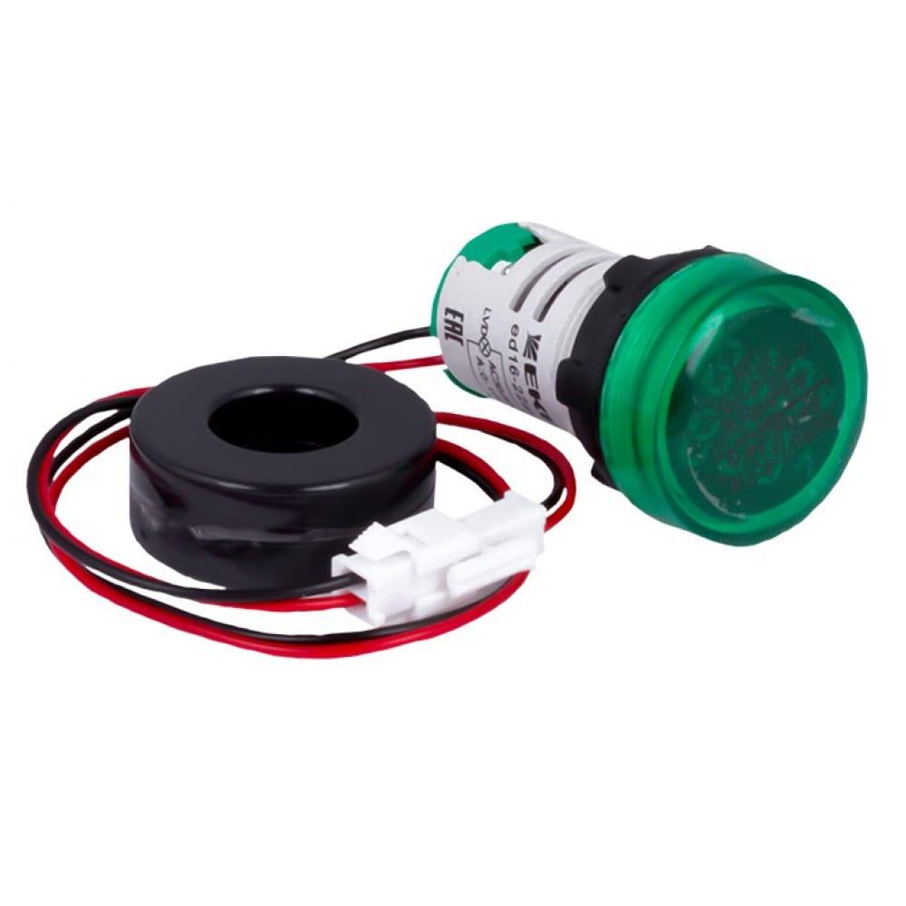 Индикатор значения тока и напряжения ekf зеленый ed16-22avd 100а proxima sqed16-22avd-g
