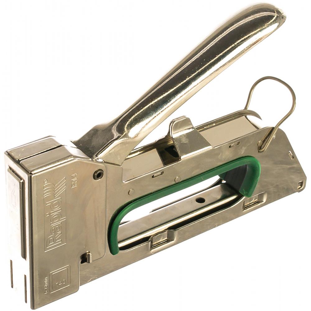 Ручной степлер для скоб 140 rapid r14e стальной корпус 5000066