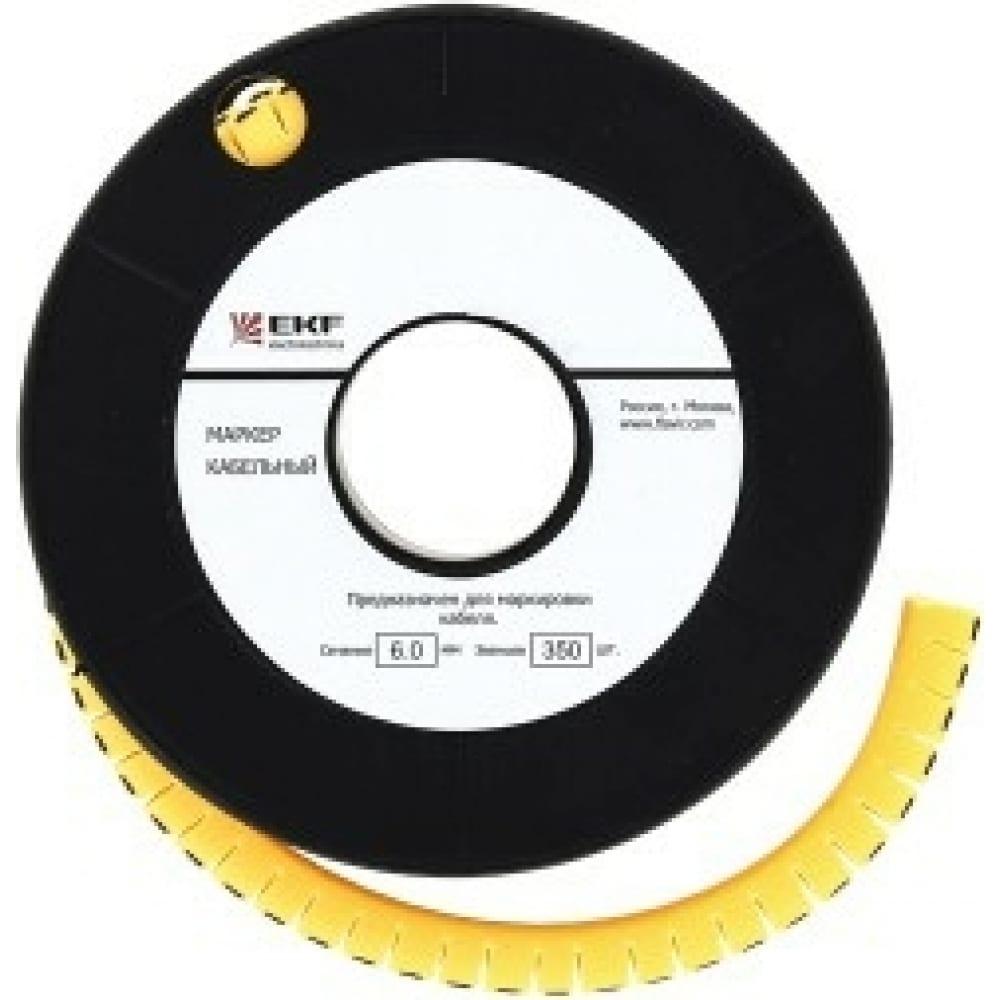 Купить Кабельный маркер ekf 1, 5 мм2, 2, 1000 шт, ес-0, proxima sq plc-km-1.5-2