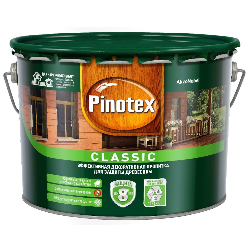 Антисептик pinotex classic nw палисандр 1л 5195451