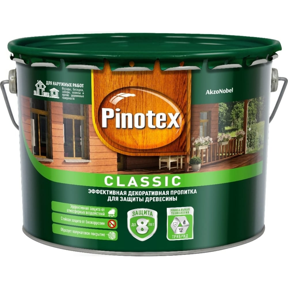 Антисептик pinotex classic nw сосна 1л 5234308