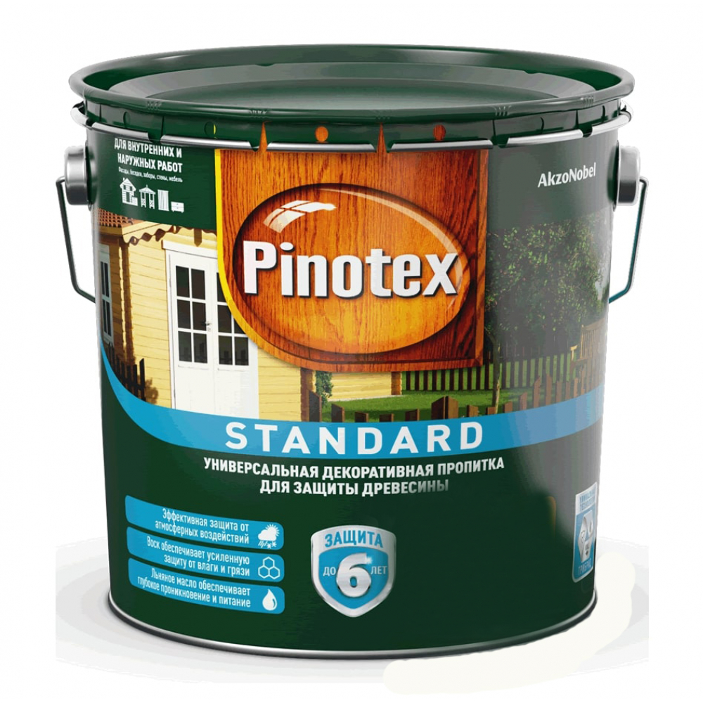 Антисептик pinotex standard сосна 0,9л 5270560