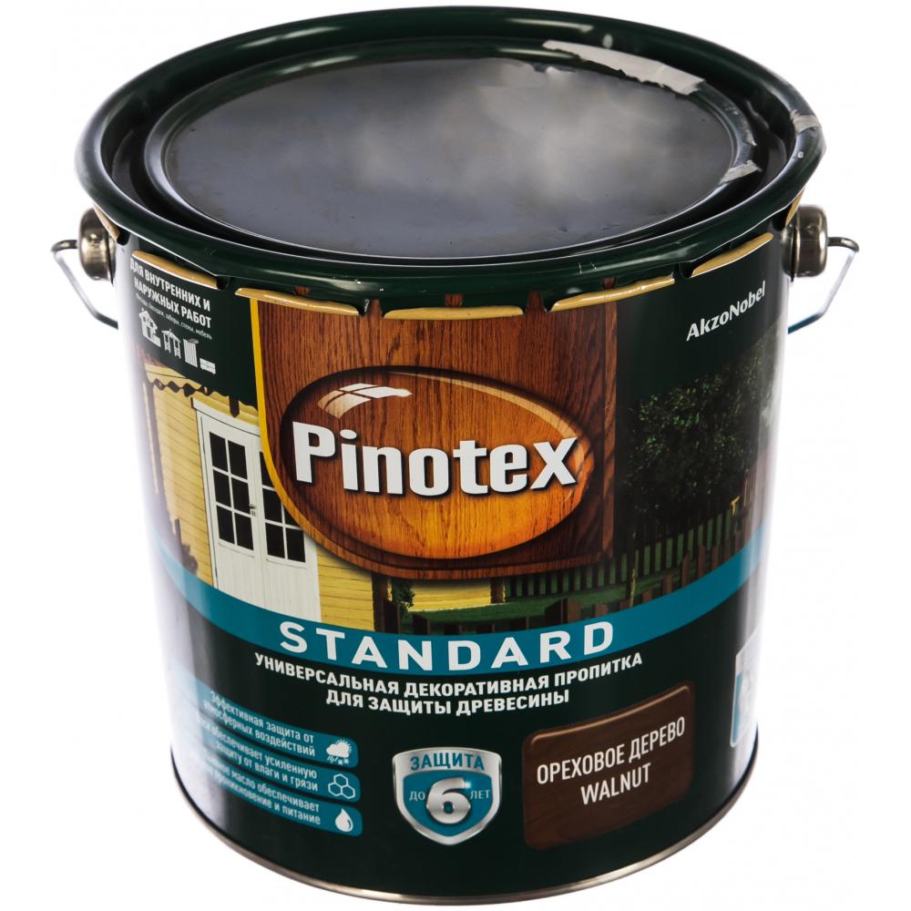Антисептик pinotex standard  ореховое дерево 2,7л 5270608