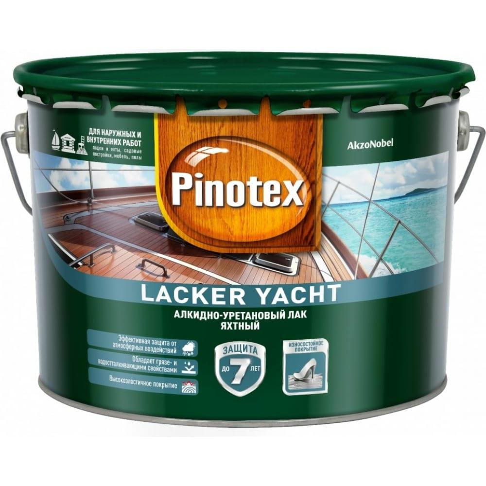 Купить Лак pinotex lacker yacht 40 алкидно-уретановый д/вн. и наружных работ, полуматовый 1л 5255403