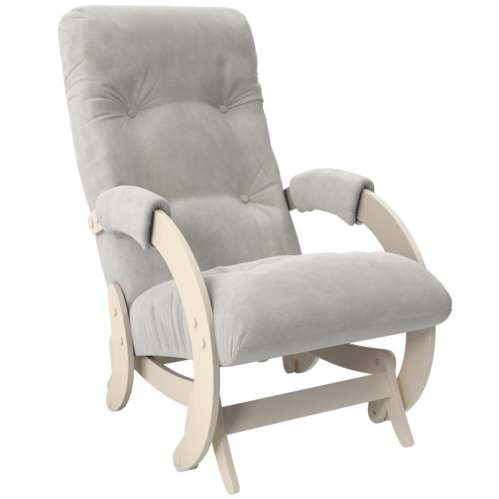 Купить Кресло-глайдер комфорт модель 68, дуб шампань, ткань verona light grey 29184