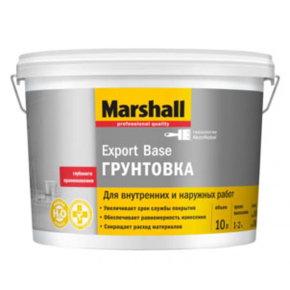 Купить Универсальная грунтовка marshall export base 10л 5195021