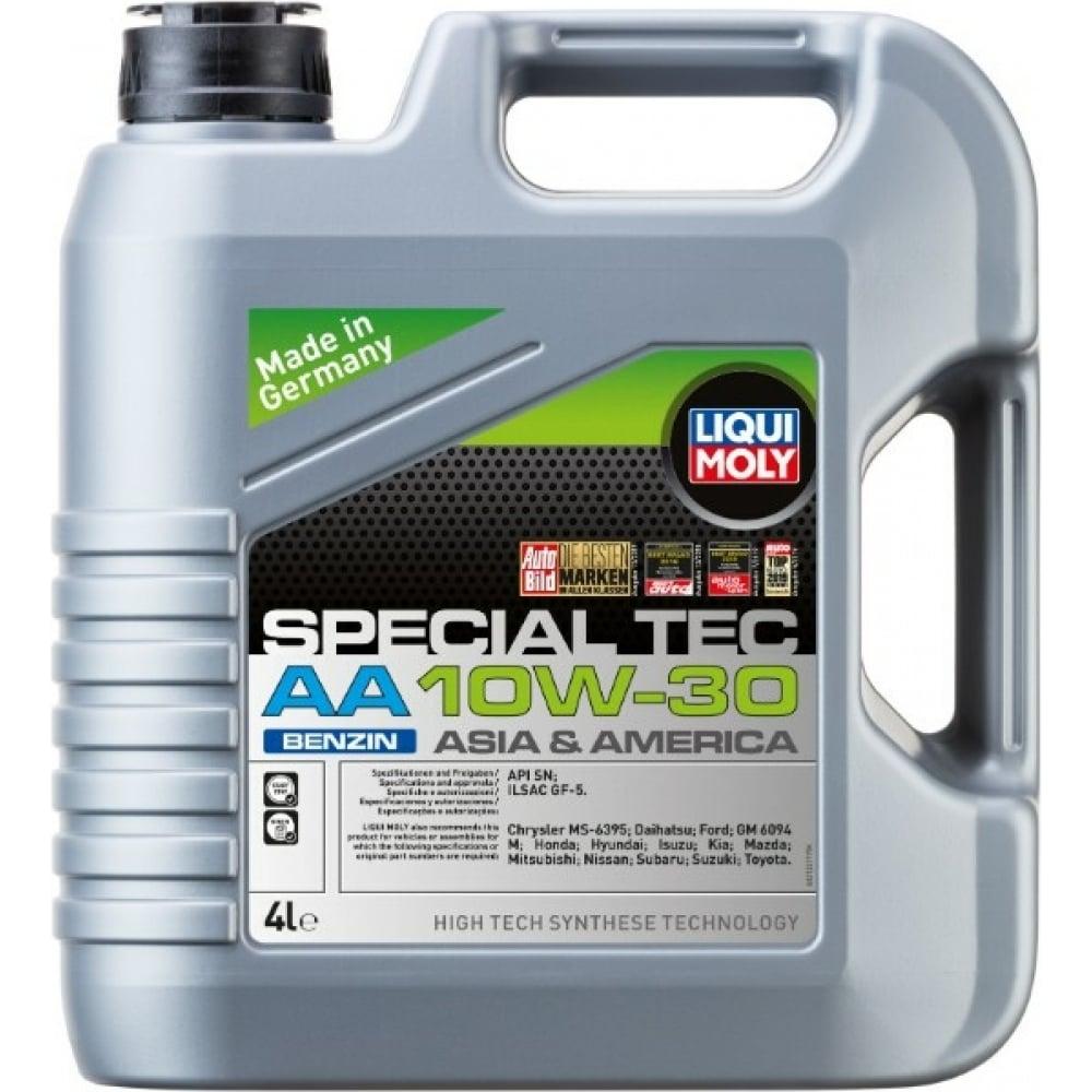 Купить Нс-синтетическое моторное масло special tec aa benzin (10w-30; sn; gf-5; 4л) liqui moly 21337