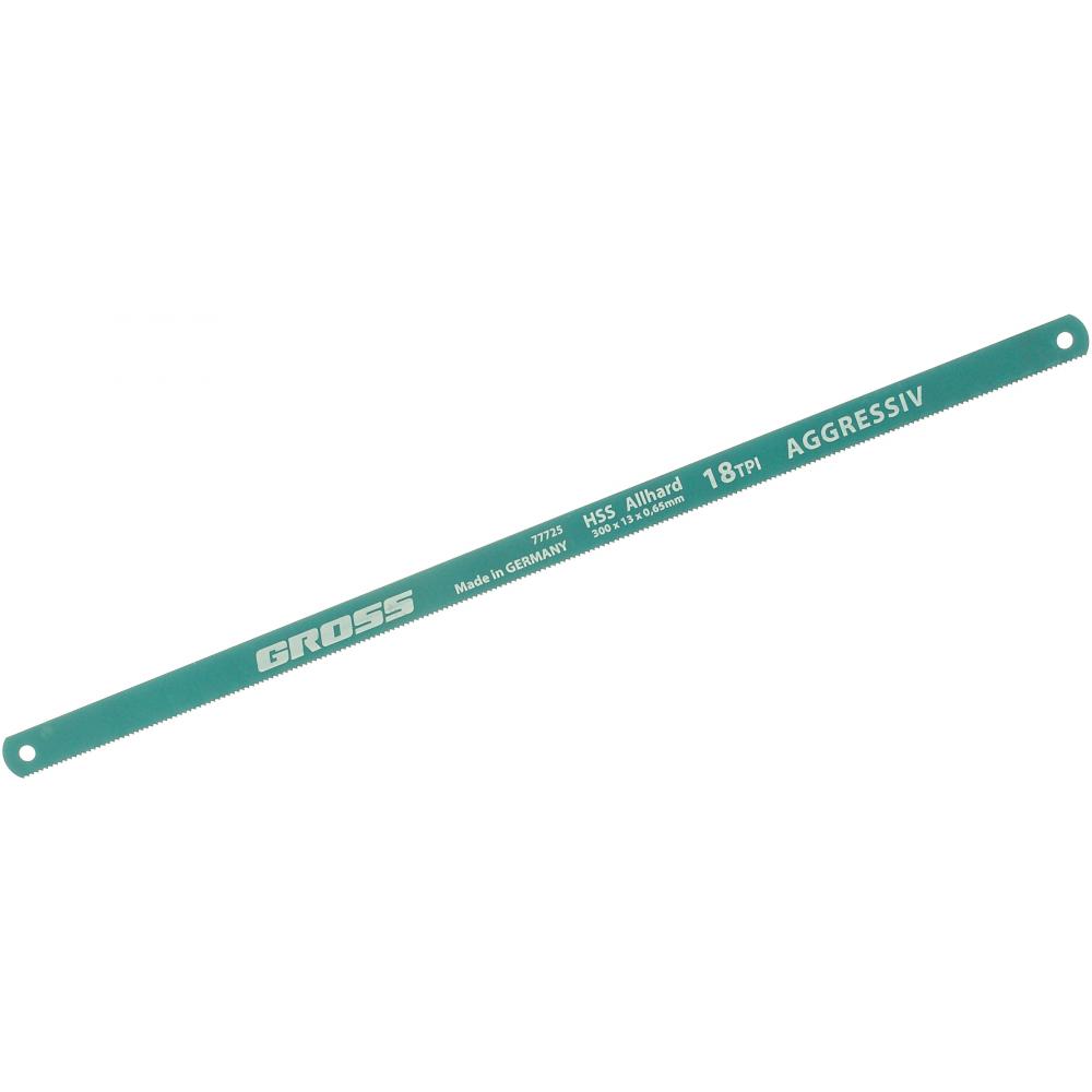 Купить Полотна gross для ножовки по металлу 300 мм 18 tpi hss 2 шт. 77725