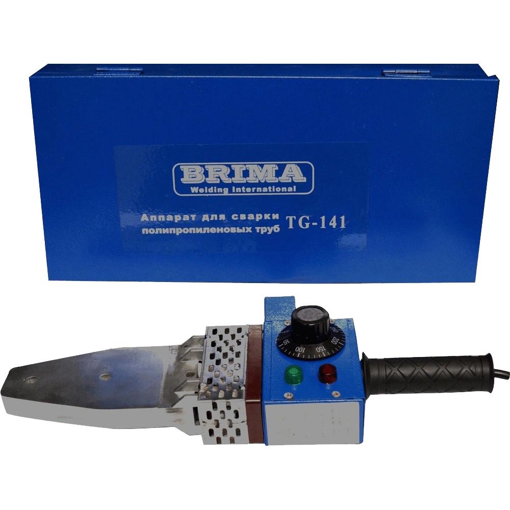 Купить Аппарат для сварки полипропиленовых труб brima tg-141 220в комплект в чемодане 0009773