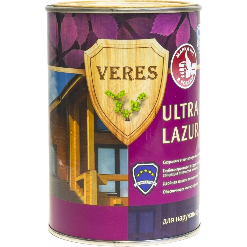 Купить Пропитка veres ultra lazura №1 бесцветный 0.9 л 1/6 42027