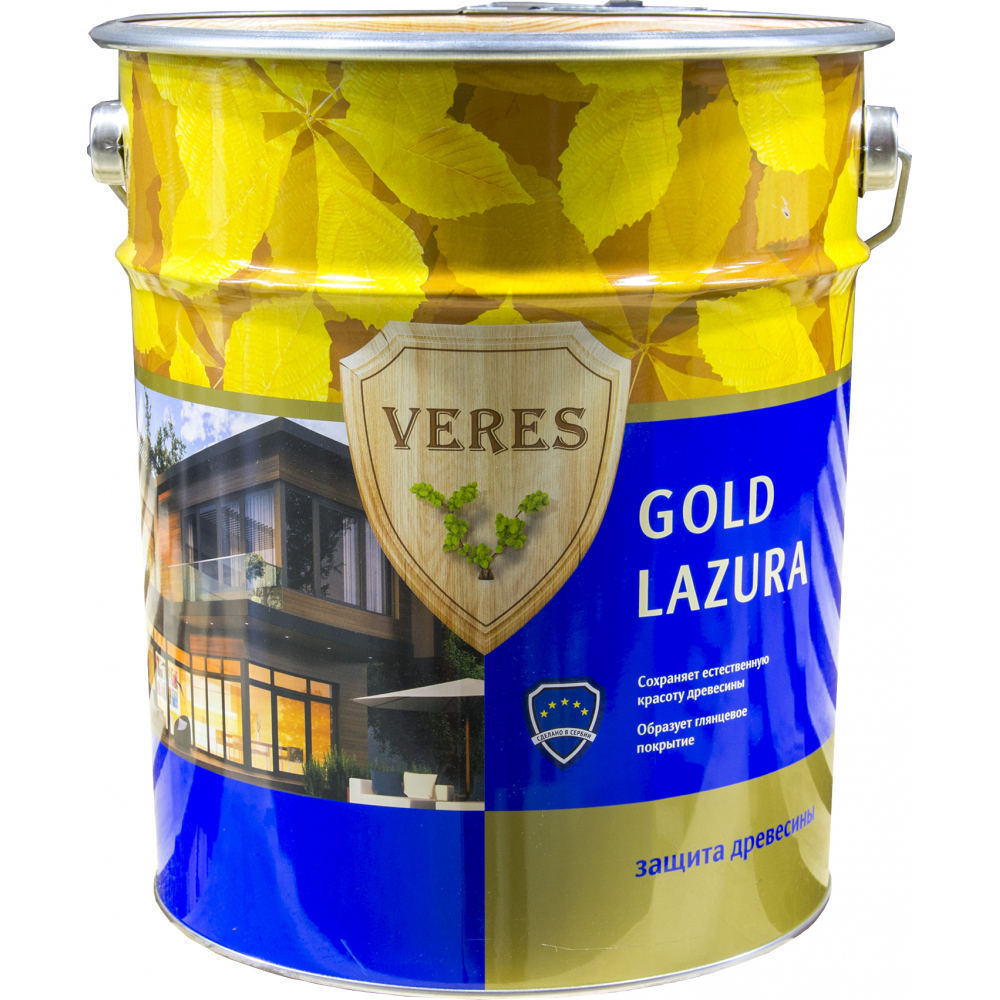 Купить Пропитка veres gold lazura №3 тик 10 л 1 45282