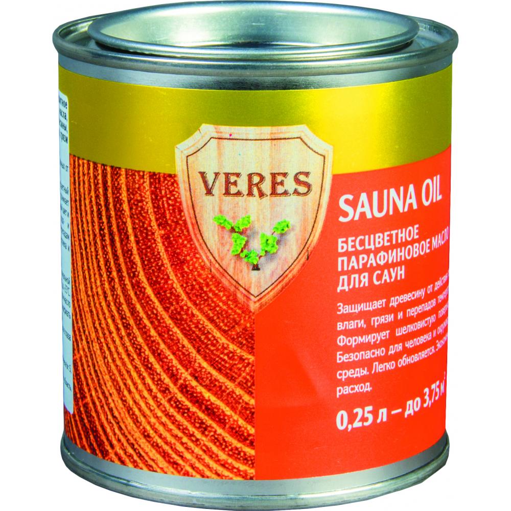 Купить Масло veres sauna oil для саун 0.25 л 1/6 52316