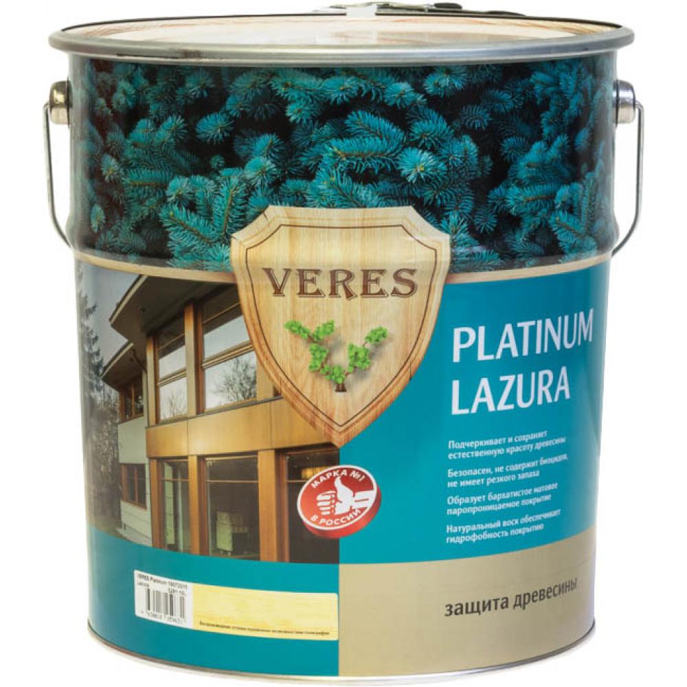 Купить Пропитка veres platinum lazura №9 палисандр 10 л 1 48837
