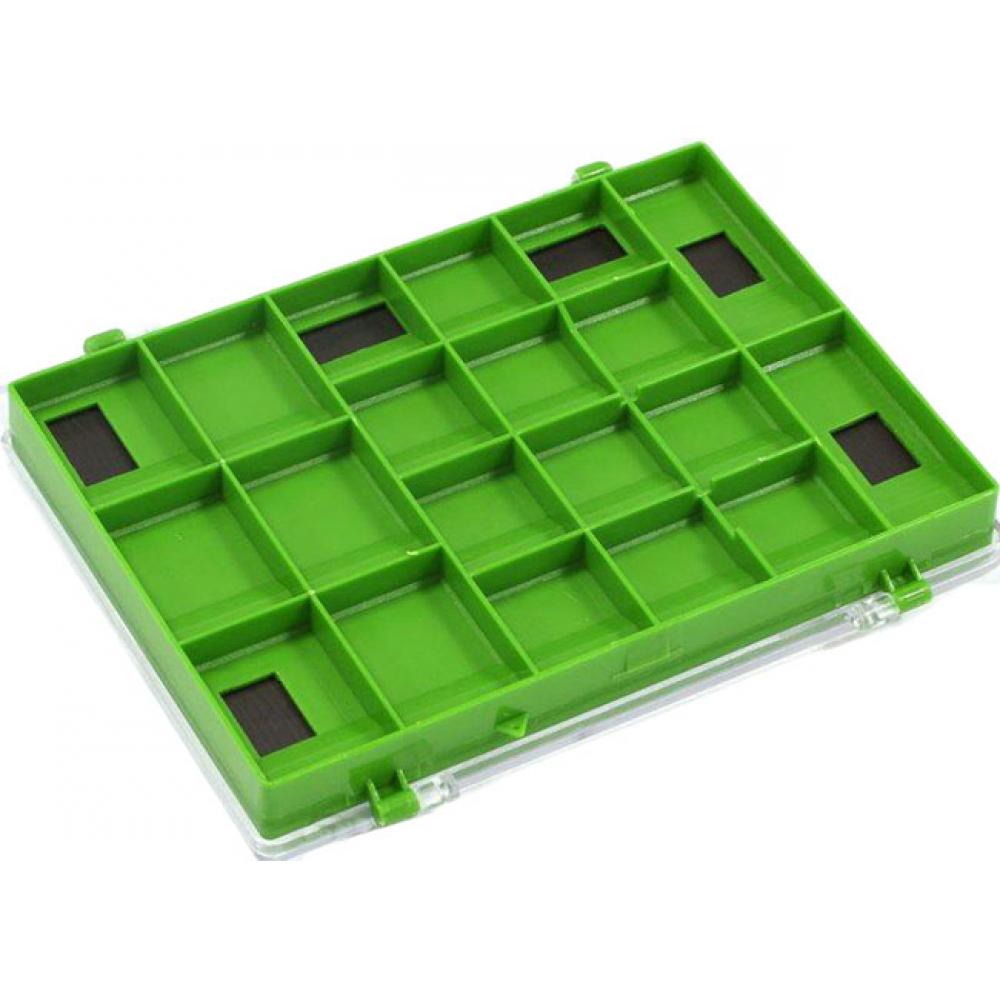 Купить Пластиковая коробка для крючков salmo с магнитами 77 1500-77