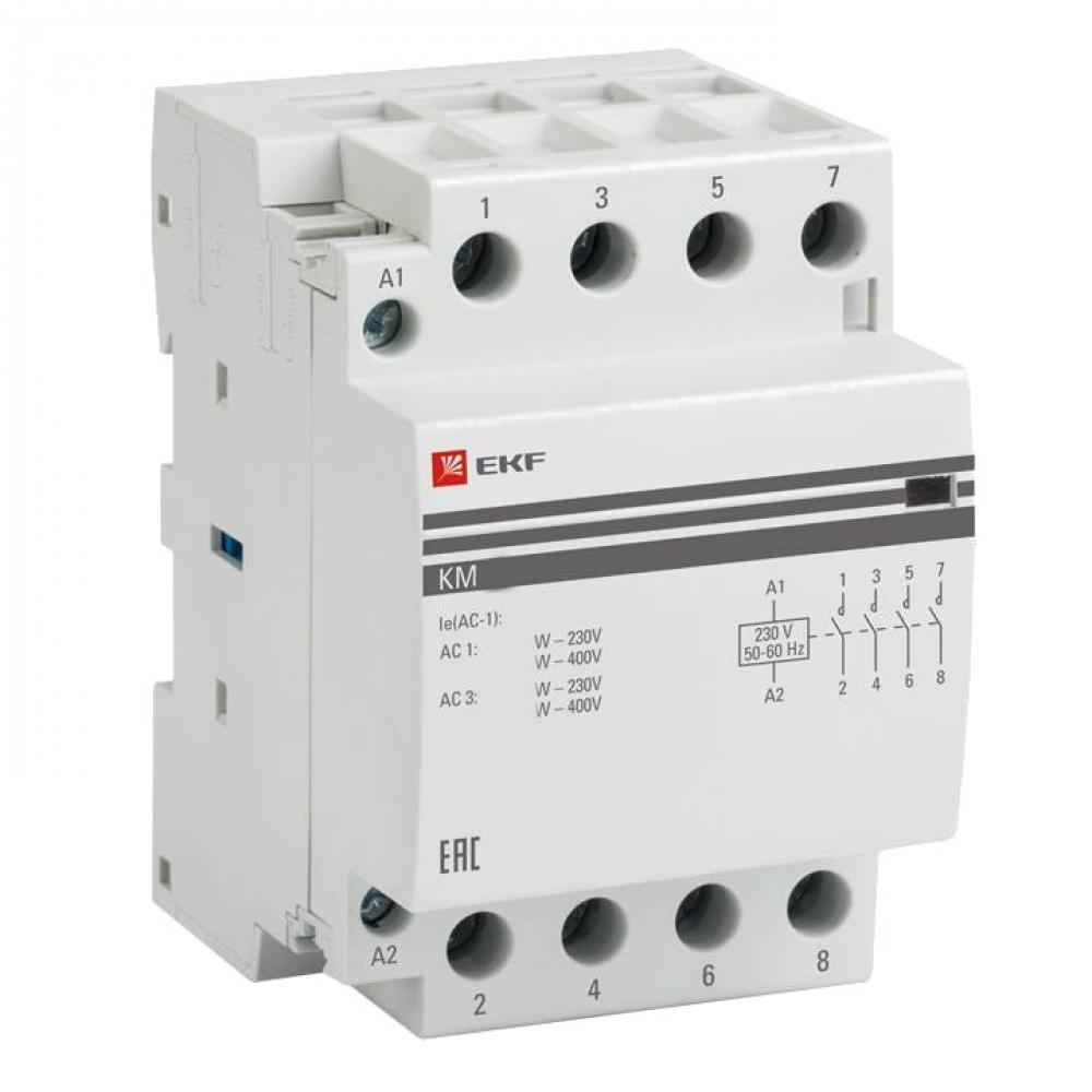 Модульный контактор ekf км 16а 3nо+nc proxima sqkm-3-16-31.