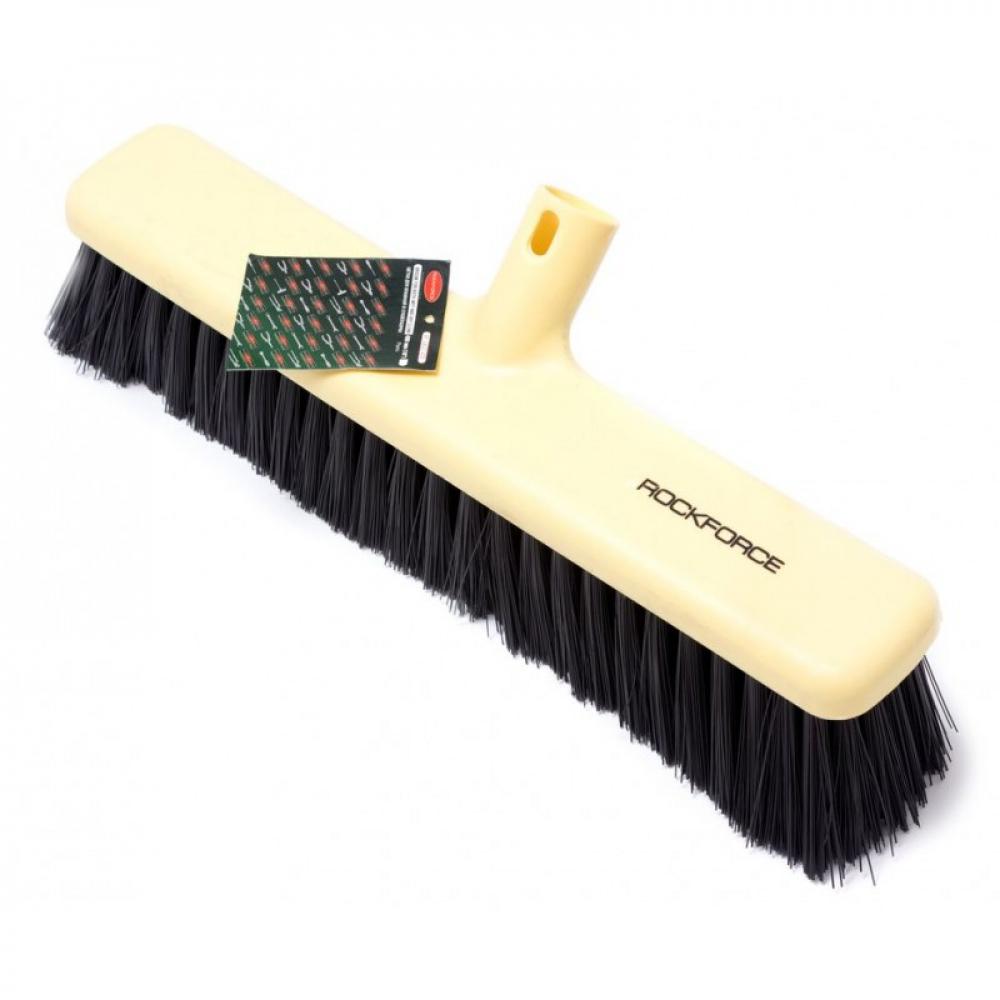 Щетка для уборки в пластиковом корпусе rockforce под черенок rf-34031400