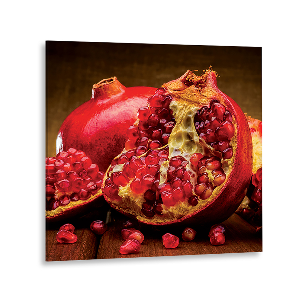 Картина на стекле декоретто спелый гранат