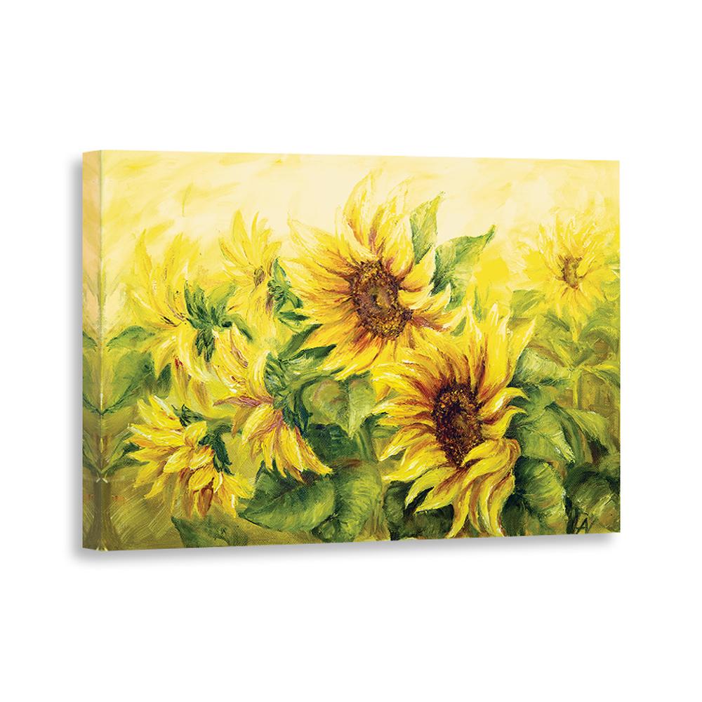 Канвас декоретто солнечные цветы cv 8005 декор