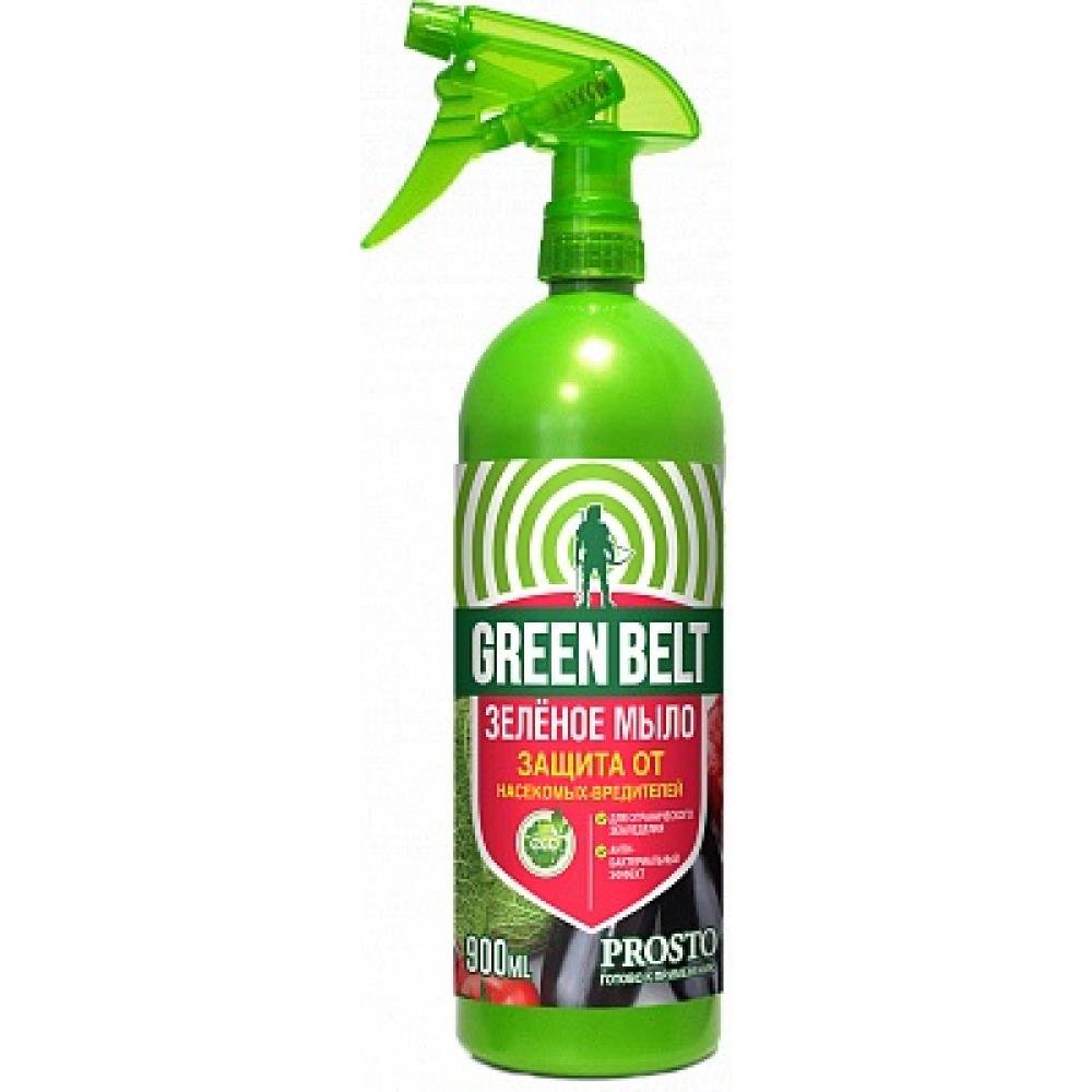 Защита растений от вредителей грин бэлт зеленое мыло, 900 мл 01-686
