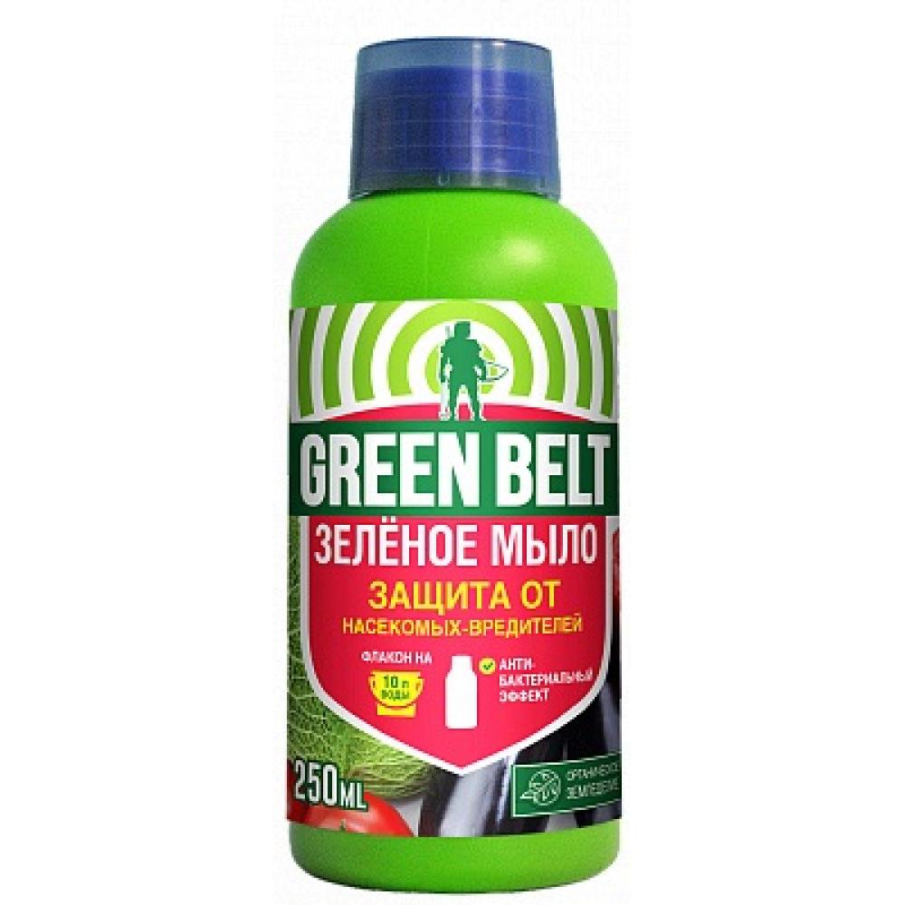 Защита растений от вредителей грин бэлт зеленое мыло, 250 мл 01-675