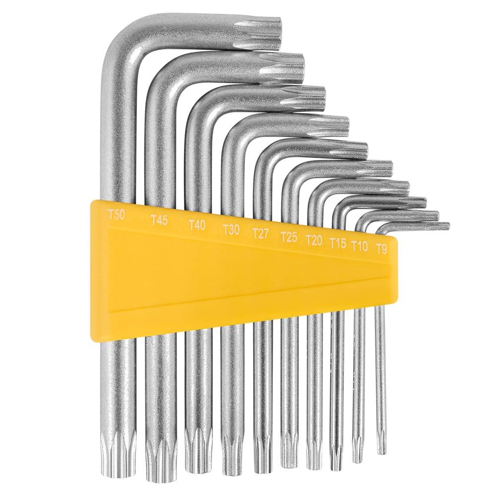 Купить Набор ключей типа torx мастералмаз т9-т50 10501071