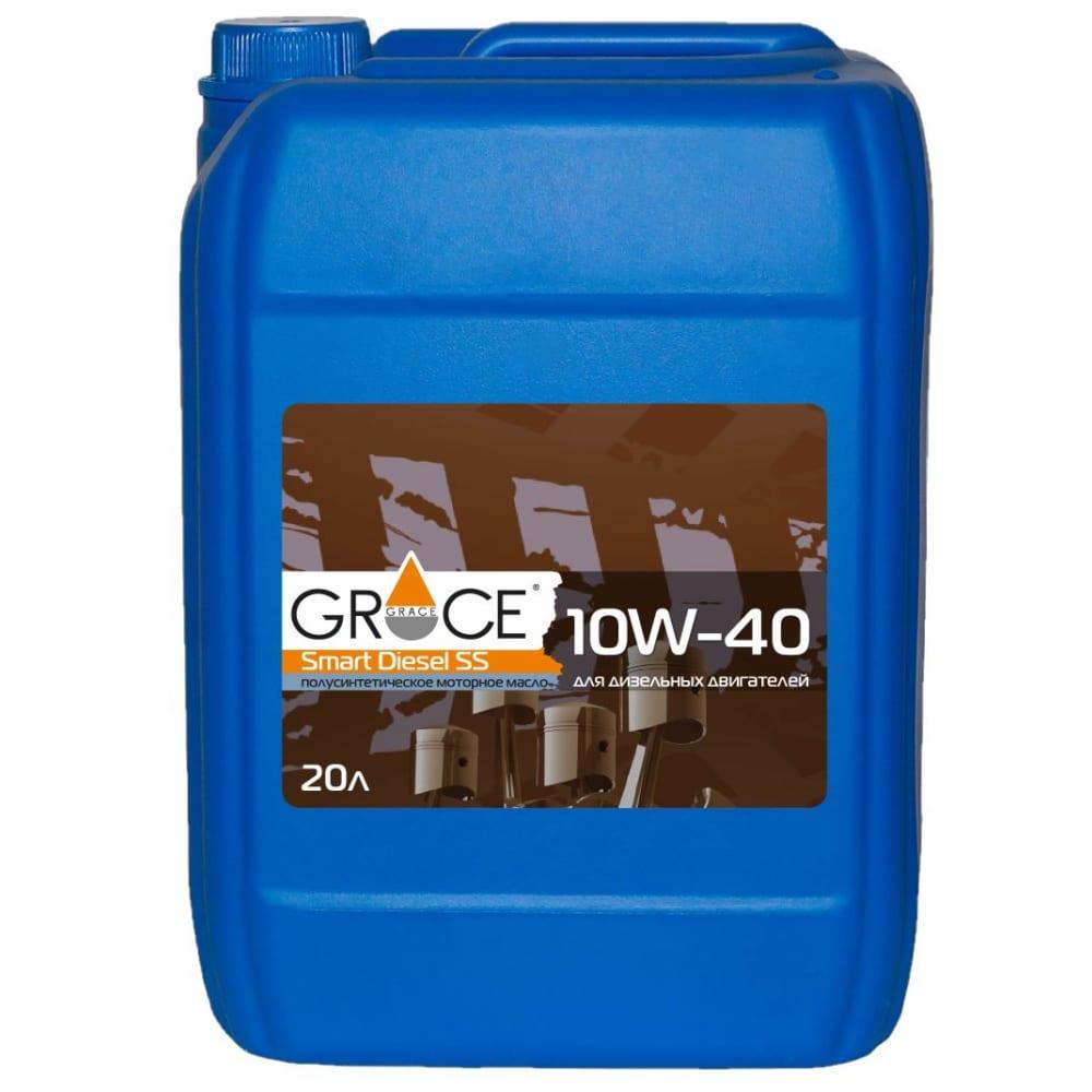 Купить Масло моторное grace smart diesel ss 10w-40 20 л