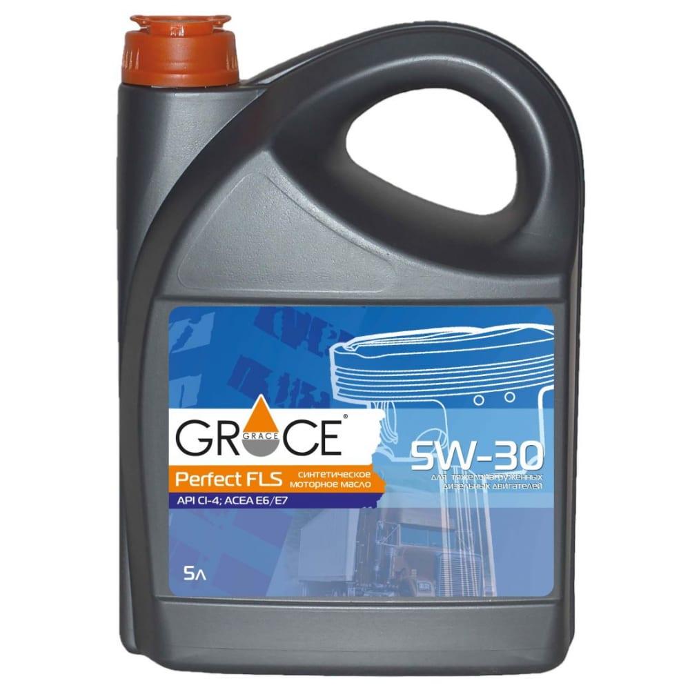 Купить Масло моторное синтетическое grace perfect fls 5w-30 5 л